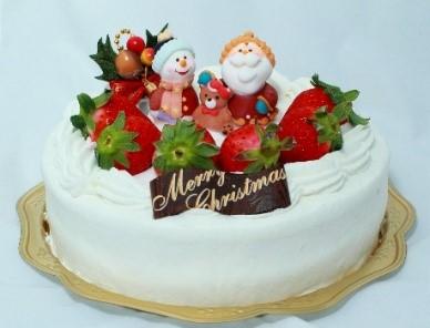 クリスマスケーキの飾り 100均のダイソー、セリアでアレンジ!